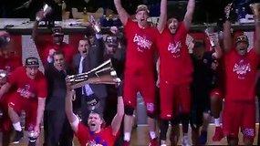 Maskvos CSKA triumfas