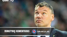 """Š.Jasikevičius: """"Rezultatas kitoje serijoje nestebina"""""""