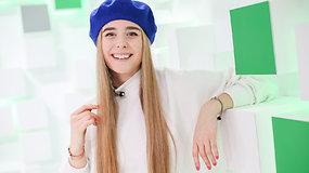 """""""Eurovizijos"""" finalininkė Monika Marija į Izraelį keliautų su šešku"""