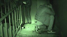 Narkotikų prekeivių sulaikymo akimirka