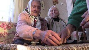 Puvočiuose močiutės iki šiol žaidžia vieną seniausių žaidimų pasaulyje