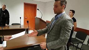 Andrius Kandelis aiškinasi teisme dėl sustabdytos teisėjo licencijos