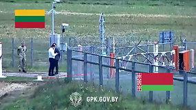 Pasienyje užfiksuotas R.Šarknicko vairuotojo incidentas: kaltinamas peržengęs sieną