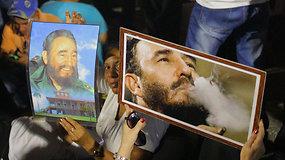 Specialiai 15min iš Kubos: kaip šalis atsisveikina su F.Castro?
