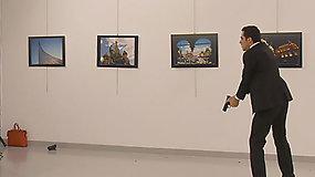 Turkijoje pareigūnas nušovė Rusijos ambasadorių