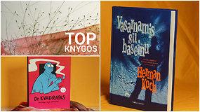 TOP 10: vertos dėmesio lapkričio knygos