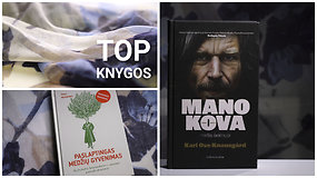 Vasario mėnesio knygų TOP 12