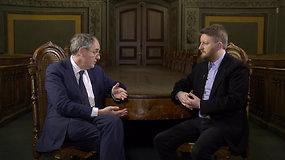 """""""Apie ką negalima kalbėti"""" su vienu žymiausių Kremliaus kritikų Edwardu Lucasu"""