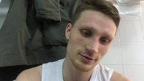 """M.Grigonis: laimėjome prieš """"Budučnost"""", bet ne prieš """"Budučnost"""" turime žaisti"""