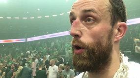 Šventinis A.Milaknis prabilo apie NBA klubo dėmesį