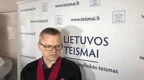 Prokuroras Tomas Stelionis komentuoja dviejų ukrainiečių nužudymo aplinkybes
