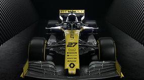 """Renault"" F1 automobilio pristatymas"