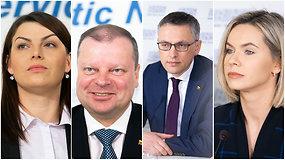 """S.Skvernelio komandoje – R.Kazėnienė, V.Bakas ir """"Mis Lietuva 2011"""" nugalėtoja"""