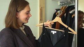 Vilnietė stilingą įvaizdį kuria rinkdamasi drabužius tik iš dėvėtų rūbų parduotuvių