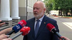E.Gentvilas po susitikimo su G.Nausėda: liberalai prie valdančiosios koalicijos nesiburtų