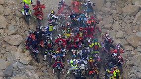 Beprotiškas išbandymas: 1702 motociklininkai vienoje sudėtingiausių trasų pasaulyje