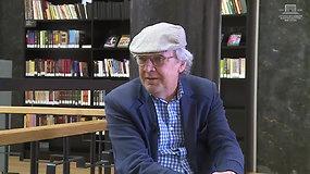 """""""Viena tema"""": pokalbis apie mirtį su poetu Edmondu Kelmicku"""