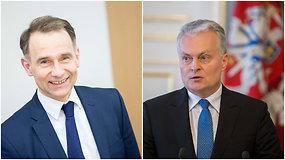 G.Nausėda apie posto netekusį R.Masiulį: jo iniciatyvoms nebuvo tinkamo palaikymo Seime