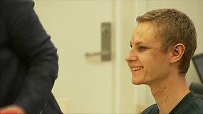 Šaudynes Norvegijos mečetėje surengęs jaunuolis teisme šypsojosi