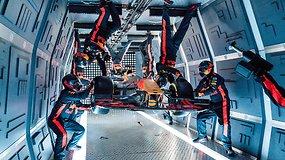 Neeilinis eksperimentas: formulės bolidui ratus keitė erdvėje be gravitacijos