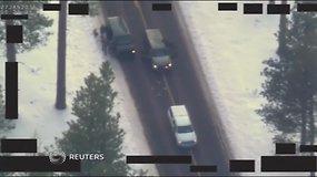 FTB paviešino, kaip sulaikomi Oregono draustinio administraciją okupavusius asmenis