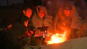 Europa pasigedo 10 tūkst. pabėgėlių vaikų