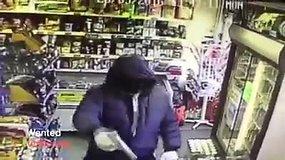 Londone ieškomas lietuviškas parduotuves apiplėšinėjantis ginkluotas emigrantas