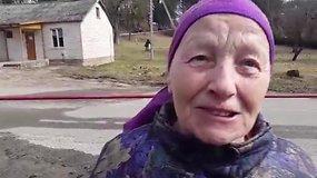 Bažnyčią prižiūrėjusi moteris: liepsnojo taip, kad jau negalėjome įeiti