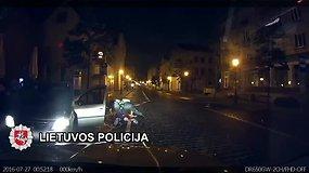 Gaudynės: per naktinę Klaipėdą girtas rusas lėkė didžiuliu greičiu