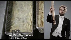 Berlyno orkestas instrumentais meistriškai atkartojo miesto garsus