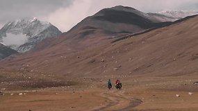 Dviračiais per Mongoliją: kaip dviem ratais pervažiuoti ledyną?