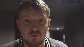 """P.Ambrazevičius aiškinosi, ką veikia trys roko grupės, apsigyvenusios """"Siemens"""" arenoje"""
