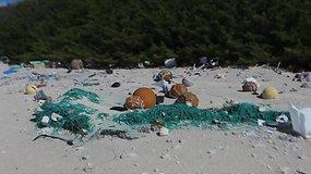 Mokslininkai nustėro atokioje saloje radę tonas šiukšlių iš plastiko