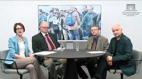 """Diskusija iš ciklo """"Europos būklės apmąstymai"""": XXI a. migracija ir pabėgėliai Europoje"""