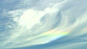 Šanchajaus gyventojus nustebino neįprastas reginys danguje