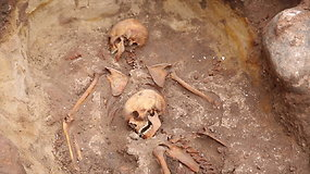 Ant Gedimino kalno archeologai atkasė dar penkių sukilėlių palaikus