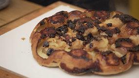 Gaminame iš produktų, kuriems taikomos akcijos: greitas obuolių pyragas