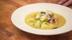 Antienos sriuba su daržovėmis