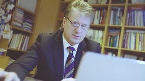 """Profesorius dr. Saulius Čaplinskas: """"ŽIV liga jau valdoma vaistais"""""""
