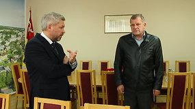 E.Mališauskas Rokiškio merui bėrė pasiteisinimus ir teigė norįs toliau dirbti direktoriumi