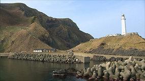 Šiaurės Korėjos žvejai įtariami apšvarinę Japonijos salą – nepaliko net durų rankenų