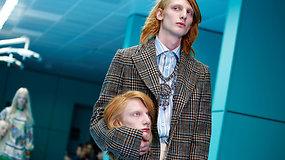 """""""Gucci"""" ir vėl stebina gerbėjus: ant podiumo – galvų maketai ir gyvatės"""