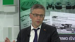 """Vytautas Bakas apie NSGK tyrimo išvadas: """"Tuos žmones reikia sustabdyti"""""""