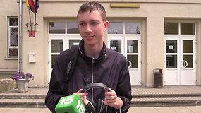 Po lietuvių kalbos egzamino abiturientai dalinasi įspūdžiais