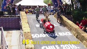 Įkvėpimui: akimirkos iš Red Bull muilinių lenktynių. 5 dalis