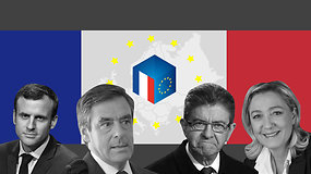 Rinkimai Prancūzijoje: balsuos ir širdimi, ir galva