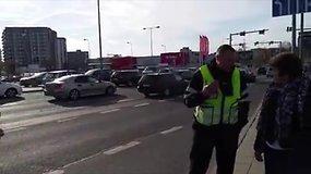 Konfliktas tarp vairuotojo ir kontrolieriaus Vilniaus 3G autobuse