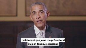 """B.Obama: """"E.Macronas kalba ne apie baimę, o apie viltį"""""""