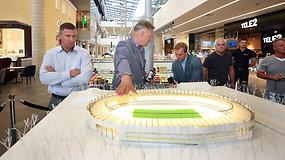 Po pusantrų metų Kaunas turės moderniausią stadioną Lietuvoje