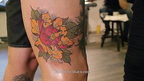 """Savitą tatuiruočių stilių kurianti Monika Boo: """"Tėvai galvojo, kad vartoju narkotikus"""""""